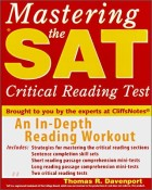 Mastering the Sat Critical Reading