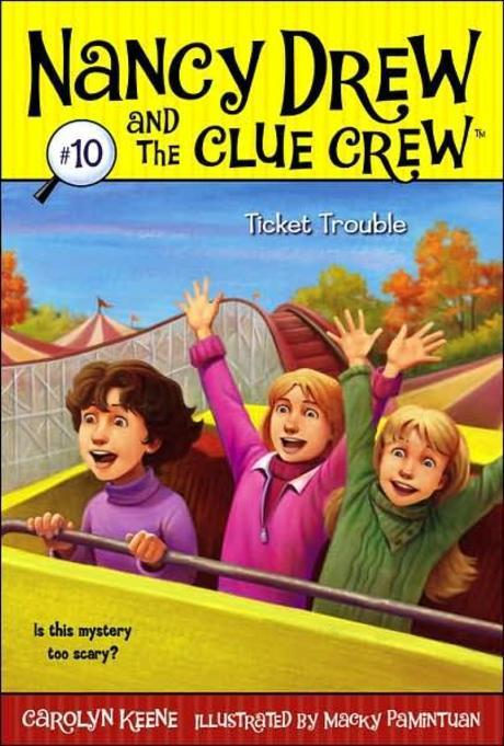 Nancy Drew and the clue crew. 10:, Ticket trouble