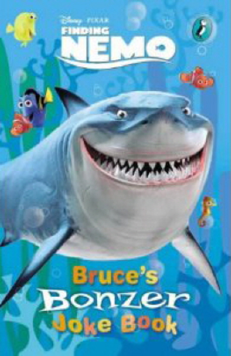 Bruce's bonzer joke book : Finding Nemo