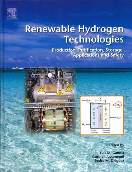 Renewable hydrogen technologies :production, purification, storage, applications and safety