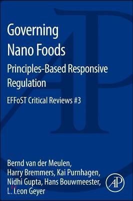 Governing nano foods : principles-based responsive regulation