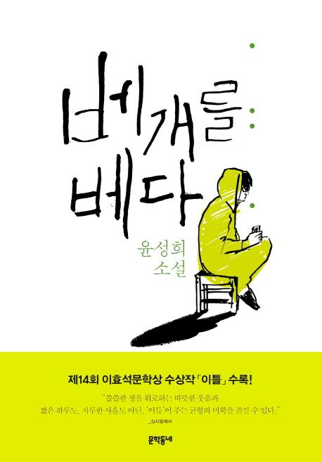 베개를 베다  : 윤성희 소설집 표지